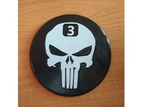 A beer counting coaster