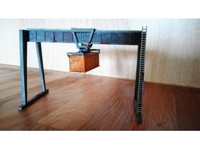 Container Crane N-Scale