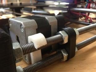 Prusa i3 Y Motor Stabilizer