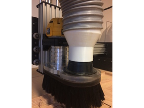 100mm to 64mm ducting reducer