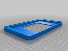 Raspberry pi 7 inch screen case (remastered)