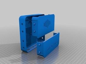 Raspberry PI 8 Channel Relay + Breadboard Case  [wall mount]