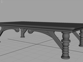 Medieval table.