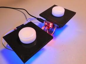 Illuminated Arcade Spinner