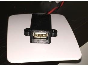 USB socket case