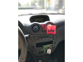 citroen C3 phone mount