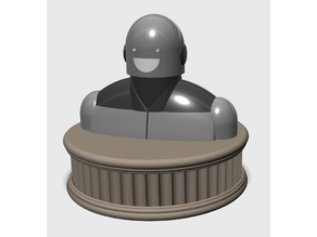 Bust of Punchbot