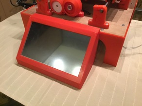 "7"" LCD and Raspberry Pi for Cyclone PCB factory"