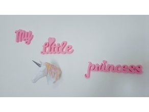 My Little Princess Decor Sign