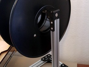 Simple OpenBeam filament spool stand