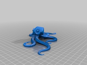 My Customized Plastic Reef #2: Random Octopus Generator