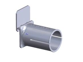 HatchBox spool holder, side mounted