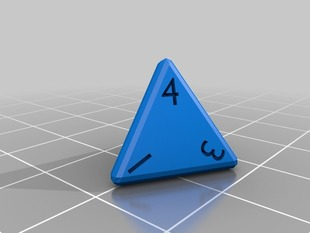 Dice Set (d4, d6, d8, d10, d12, d20)