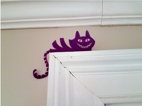 Cheshire Cat Door Stand