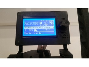 RAISCUBE PRUSA LCD Support
