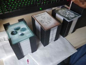 Stacking deck holder for The binding of Isaac: Four Souls