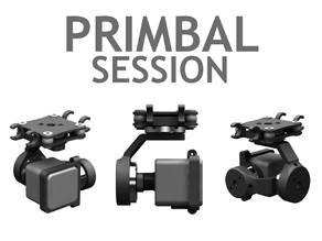 Primbal Session - 3 Axis Brushless Gimbal for GoPro Session