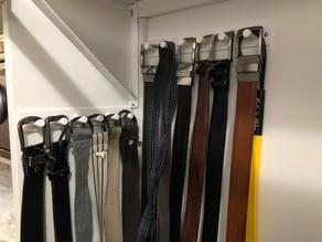 Belt Rack/Holder Remix for 6 belts/prongs