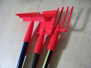 Pen lid Garden set