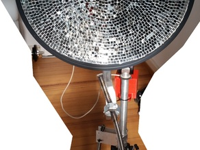 Parabolic Heating System for Camping mobile use
