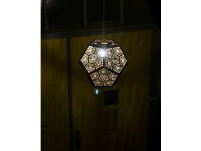 Dodecahedron Shadow Hanging Lamp