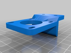 Y Axis motor mount for 20mm aluminum extrusion