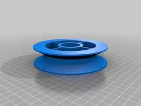 My Customized filament/wire spool or wheel creator