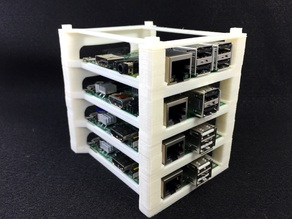 Raspberry Pi Stacking Tower