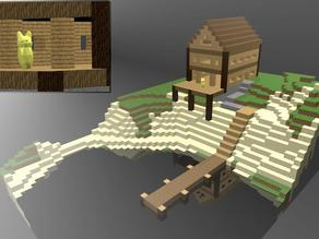 minecraft lake house