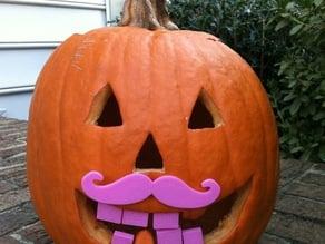 Pumpkin Moustache