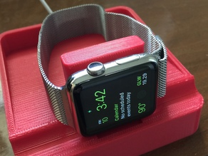 Stable apple watch stand