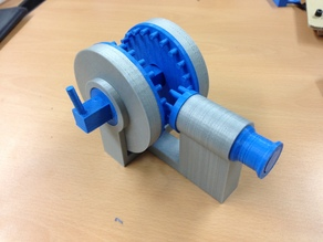 3D Printed da Vinci Style Movement Converting Device