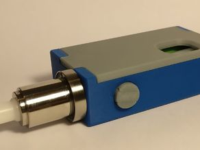 Box Mod bottom feeder mechanical with push button lock