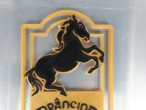 The Prancing Pony sign ( The Lord of the Rings )