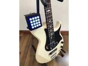 Guitar Mounted Adafruit Trellis Midi Controller