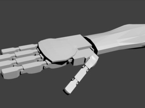 Robotic Hand Proto 2 (DO NOT PRINT!!!!!)