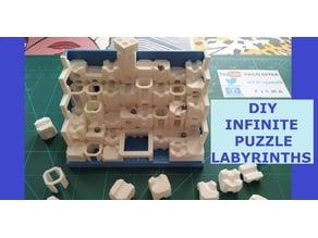 Infinite puzzle labyrinths / Juego de infinitos puzzles de laberintos