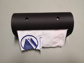 Parametric garbage bag dispenser