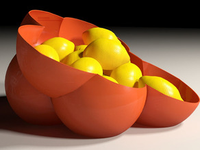 Sphere Fruit Bowl