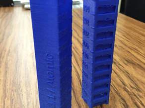 Customizable Temperature Calibration Tower