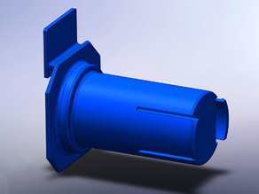 FlashForge Creator Pro Spool Holder for Jaycar Filament