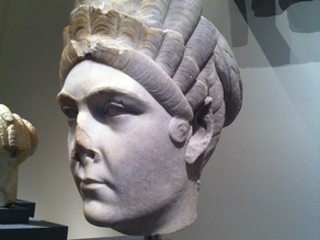 Marble portrait of Marciana, sister of the emperor Trajan