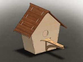 LaserCut - Bird House 1v2