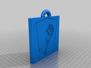 Insurgency Logo Keychain