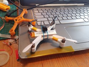 Parametric brushed micro quadcopter for lulfro, alienwii, etc