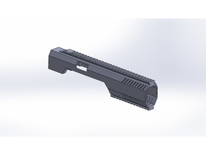 Airsoft Elite Force 1911 Tac Carbine Conversion Kit (wip)