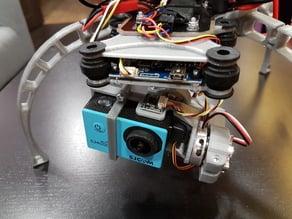 SJ4000 f450 fpv 2-axis brushless gimbal