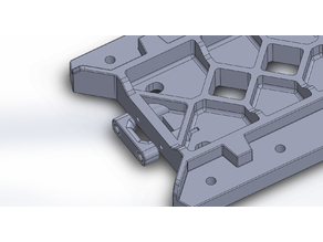 Tevo Tarantula Bed Support V2 with integrated belt tensioners