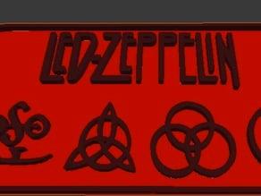 Led Zepplin Logo/Symbols