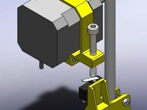 Adjustable Z Endstop for Prusa I3 P3 Steel